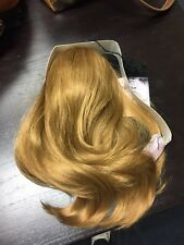 Hair Extension Hair Wave  Claw Jaw Pony tail Clip In Synthetic Medium Blond