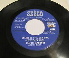 Mod Mambo Latin Jazz 45 RAMON MARQUEZ Abrete Sesamo/Clases De Cha-Cha-Cha SEECO