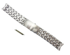 20mm Stainless Steel Replacement Strap Watch Bracelet Fits Omega Seamaster UK