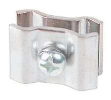 Grid Connector, Butterfly Style, Chrome, Lot of 100