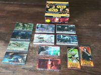 Star Wars Revenge of the Sith Widvision Cards Complete Set +Yoda & Darth Sidious