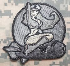 WWII ARMY ISAF B52 AIR PINUP GIRL USA COMBAT MORALE ACU VELCRO® BRAND PATCH