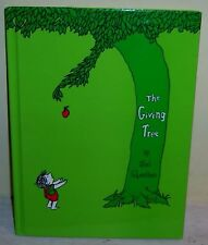 The Giving Tree Shel Silverstein 1992 Hardcover Children's Family Picture Book