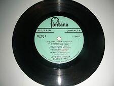 Gloria Lynn - Love And A Woman  ( Sampler) 6 Songs  Fontana G+
