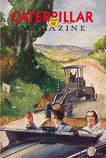Caterpillar Vintage Magazine No 61 1932 Very Rare