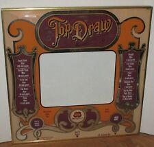 "Vintage Casino Poker Machine Glass Panel By Top Draw SMS 1981 size 22"" x  22"""