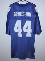 New York Giants NFL shirt jersey #44 Bradshaw Reebok size XL