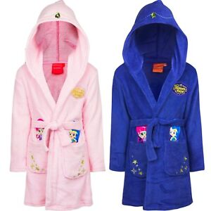 New Kids Bathrobe Girl Shimmer & Shine Cuddly Soft 98 104 110 116 #600