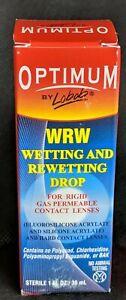 "Optimum Lobob Wetting and Rewetting Drop - 1oz ""Exp 03/19"" New"