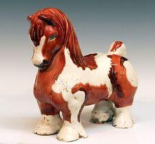 Large Italian Bellini Pottery Vintage MCM Pinto Horse Figure Raymor Bitossi Era