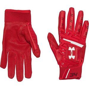 New Under Armour UA Harper Hustle Batting Gloves Red Youth Small YSM HALF PRICE!