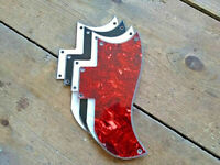 5-Hole Small Half Face Guitar Pickguard for Gibson American SG Guitar