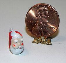 Dollhouse Miniature Santa Claus Coffee Mug 1:12 Scale