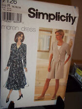 Simplicity #7126 Sewing Pattern Misses Top Shorts Skirt Size R 14 16 18 FF Uncut