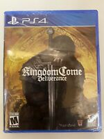 Kingdom Come Deliverance Royal Edition PS4 PlayStation 4 New Sealed Region Free