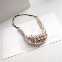 Women Elastic Rhinestone Hairband Headband Party Wedding Band Hair P6C7