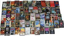 Lotto Stephen King stock Collezione completa di tutte le sue opere. 63 Libri