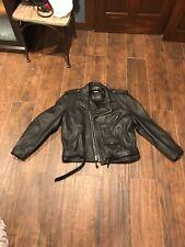 Vintage WILSONS Motorcycle Leather Jacket. Thinsulate Biker Rocker Men's XXL