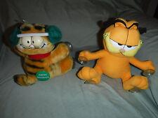 "Garfield Suction Comic Strip Cat 8"" Plush Soft Toy Stuffed Animal"