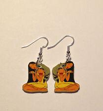 Pocahontas Earrings Meeko Raccoon Charms