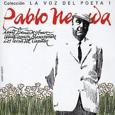 La Voz del Poeta 1  by Pablo Neruda (CD 2004)  [Emi 8281782]