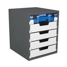 Van Shelving - 5 drawer cabinet - 1 Ezi-Pak case drawers, 4 standard drawers