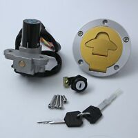 Ignition Switch Lock & Fuel Gas Cap Key Set Fit For Ducati ST2 98-03 ST4 00-02