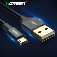 Ugreen Reversible Micro USB Cable Double Sided 2A Fast Charging for Samsung HTC