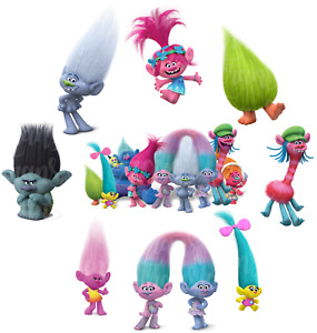 LES TROLLS POPPY BRANCH BRIDGET TRANSFERT TEXTILE VETEMENT IRON