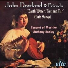 Anthony Rooley, Cons - John Dowland & Friends Lute Songs [New CD]