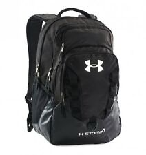 Under Armour Storm Recruit Backpack UA 1261825-001 Black/Steel/Silver NEW