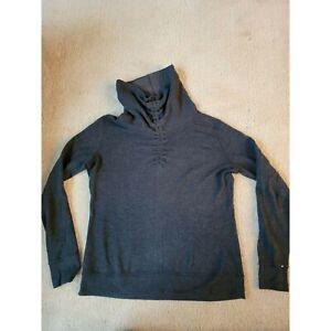 Lululemon Sweatshirt L Gray Excellent Free shipping!