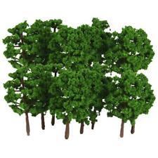 MagiDeal 40x Modelo Diseño del árbol Tren Diorama Paisaje Escenario 1: 150