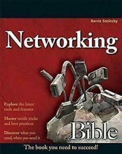 Redes Biblia Libro en Rústica Barrie Sosinsky