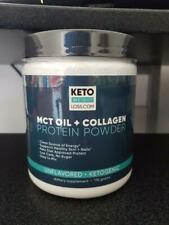 Keto, Mct Oil + Collagen, Protein Powder, 170 Gr