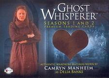 GHOST WHISPERER 1 + 2 2009 BREYGENT COSTUME CARD GC-18 CAMRYN MANHEIM