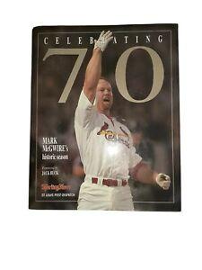 Celebrating 70 Years MLB baseball player Mark Mcgwire collectors item Book