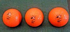 3 New Acushnet #2 Orange Disney Mickey Mouse Logo Golf Ball