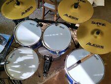 E-Drum Set , Alesis Surge Becken, drum tec Mesh Heads, ddt Trigger, Dixon Fussm.