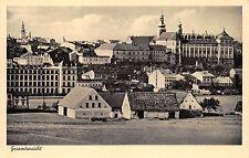 AK Braunau Sudetengau Gesamtansicht Ortsansicht Postkarte vor 1945