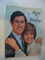 Invitation to a Royal Wedding  Princess Diana, Prince Charles 1981 by Spink
