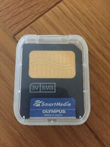 Genuine Olympus SmartMedia Card 8MB  M-8P D3V20