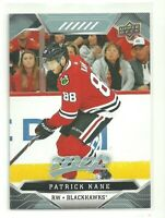19/20 Upper Deck MVP Patrick Kane Chicago Blackhawks SP #204