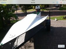 fast Wing Boat  with  25 Hp Tohatsu Electric Start