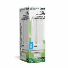Feit Electric PLD13 13-Watt Fluorescent PL 2pin Quad Bulb 13w Compact