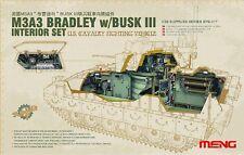 Meng Model SPS-017 1/35 M3A3 Bradley w/Busk III Interior Set