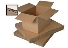 "10 MEDIUM BOXES/DOUBLE WALL CARTON 18x12x12"" + FREE p&p"