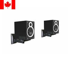 PrimeCables® 2PK Universal Sound Bar Speaker Bracket for Wall Mount Tilt&Swivel