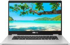ASUS 15.6 Inch C523NA Full HD Touchscreen Chromebook Silver, Intel N4200 4 GB