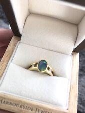 Black Opal Ring - Lightening Ridge